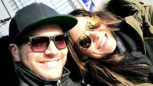 Süßes Couple-Pic: Marvin Albrecht & Simone turteln am Rhein!