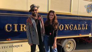 """Let's Dance""-Reunion: Massimo Sinató besucht Lili im Zirkus"