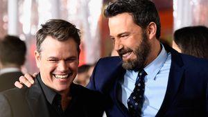 Matt Damon: Ben Affleck geht's nach Rückfall wieder besser