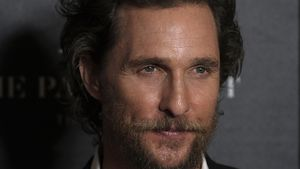 Matthew McConaughey bei einer Filmpremiere in New York