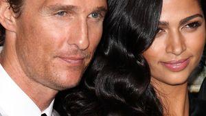 Tränen bei Matthew McConaugheys schöner Braut