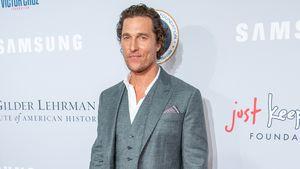 Wie süß: Matthew McConaugheys Tochter crasht sein Interview