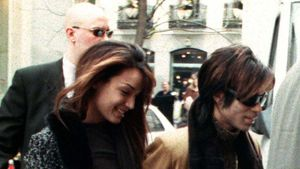 Mayte Garcia und Prince 1998 in Madrid