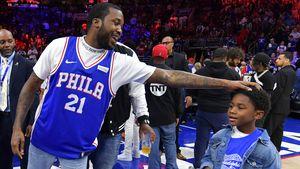 Nach Haft-Entlassung: Meek Mill chillt bei Basketball-Spiel