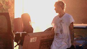 Fotobeweis: Hier zieht Machine Gun Kelly bei Megan Fox ein!