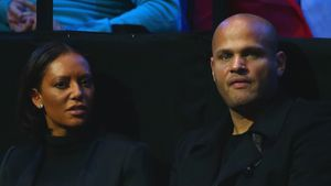 Mel B. und Stephen Belafonte in London