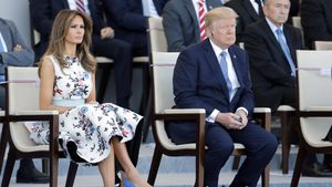 Nach Barron-Diss: Melania Trump bedankt sich bei Chelsea