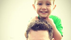 Michael Bublé und sein Sohn Noah