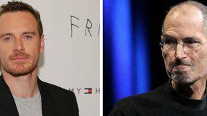 Michael Fassbender und Steve Jobs