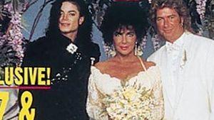 Geheime Hochzeitsfotos von Liz Taylor aufgetaucht!