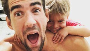Mini-Goldfisch? Boomer Phelps kommt ganz nach Dad Michael!