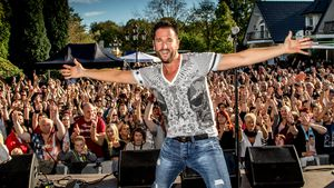 Michael Wendler bei einem Auftritt auf seiner Ranch Party 2016
