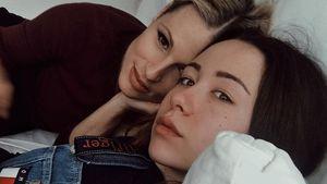 Hübsches Duo: Michelle Hunziker & ihre Aurora beim Kuscheln