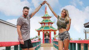 Wie haben sich Michi Bauer und seine Freundin kennengelernt?