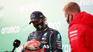 Zu Tränen gerührt: Lewis Hamilton bricht Schumacher-Rekord
