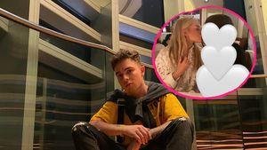 Neue Liebesindizien: Küsst Sophie Marstatt hier Mike Singer?
