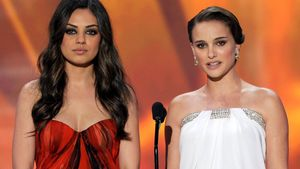 Mila Kunis & Natalie Portman bei den 17. Screen Actors Guild Awards