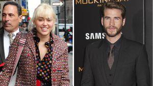 Miley Cyrus und ihr Freund Liam Hemsworth