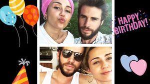 Zum Birthday: So niedlich gratuliert Miley Cyrus ihrem Liam!