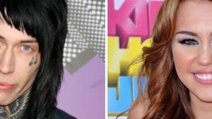 Miley Cyrus und Trace Cyrus