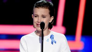 Millie Bobby Brown bei ihrer Dankesrede bei den MTV Movie & TV Awards