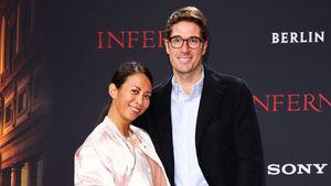 """Minh-Khai Phan-Thi mit ihrem Freund bei der Premiere des Films """"Inferno"""" in Berlin"""