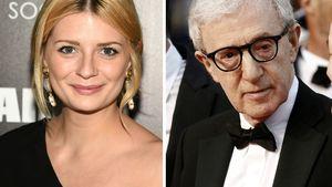 Mischa Barton und Woody Allen