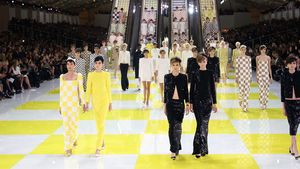 Fulminantes Fashion Week Finale mit Louis Vuitton