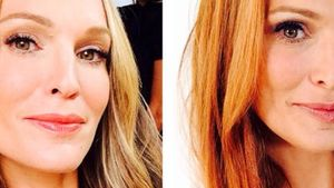 Bye-bye Blond! Molly Sims trägt nun rote Haare
