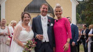 Traum-Fotos: So schön heiratete Nadine ihren Bauer Benny!