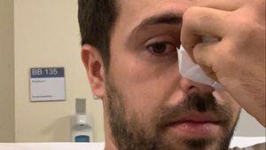 """Unfall am """"Nachtschwestern""""-Set: Nassims Nase war gebrochen"""