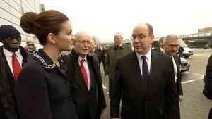 Nathalie Volk und Fürst Albert II. von Monaco