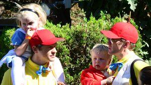 Neil Patrick Harris und Familie im Wunderland