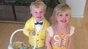Neil Patrick Harris: Osterspaß mit seinen 2 Hasen!