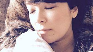 Nela Lee mit ihrem Sohn kurz nach der Geburt