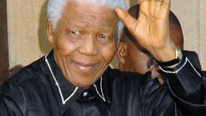 Endlich! Nelson Mandela nicht mehr im Krankenhaus