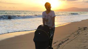 """Schon 3 Monate alt! Nevio feiert mit Baby """"Vorgeburtstag"""""""