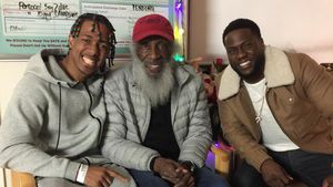 Nick Cannon, Dick Gregory und Kevin Hart