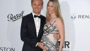 Nico Rosberg mit seiner schwangeren Frau Vivian in Cannes
