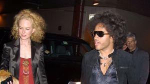 Nicole Kidman und Lenny Kravitz in New York im Jahr 2003