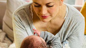"""""""Dankbar"""": Nina Bott und Familie genießen Zeit mit Baby Lobo"""