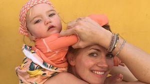 Süß! Nina Botts Töchterchen Luna ist ein Wonneproppen!