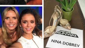 """Nina Dobrev als Gast-Jurorin bei """"Project Runway"""""""