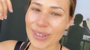 Tränen der Erleichterung: Nina Noel in Dubai angekommen
