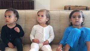 Süßes Foto: Kim Kardashian vermisst ihre Kids