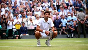 Tennisstar Novak Djokovic wurde positiv auf Corona getestet
