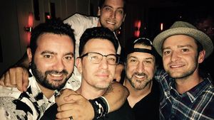 *NSYNC-Reunion anlässlich des 40. Geburtstages von JC Chasez im Jahr 2016