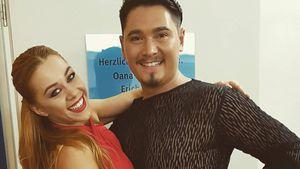 """Oana Nechiti und Erich Klann, """"Let's Dance""""-Profitänzer"""