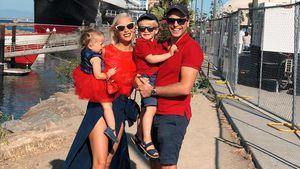 In neuer Wahlheimat: Oksana & Family feiern den US-Feiertag!