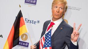 Oliver Pocher in Donald-Trump-Verkleidung beim Echo 2016